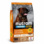 S8 Nutram Sound Large Breed Adult Dog - сухой корм для собак крупных пород 11.4кг.