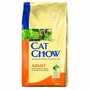 Cat Chow Adult Chicken & Turkey.